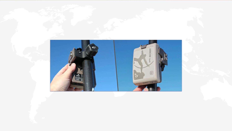 Mount & Antenna - Range Pole GPS GNSS GIS Eos Arrow receivers