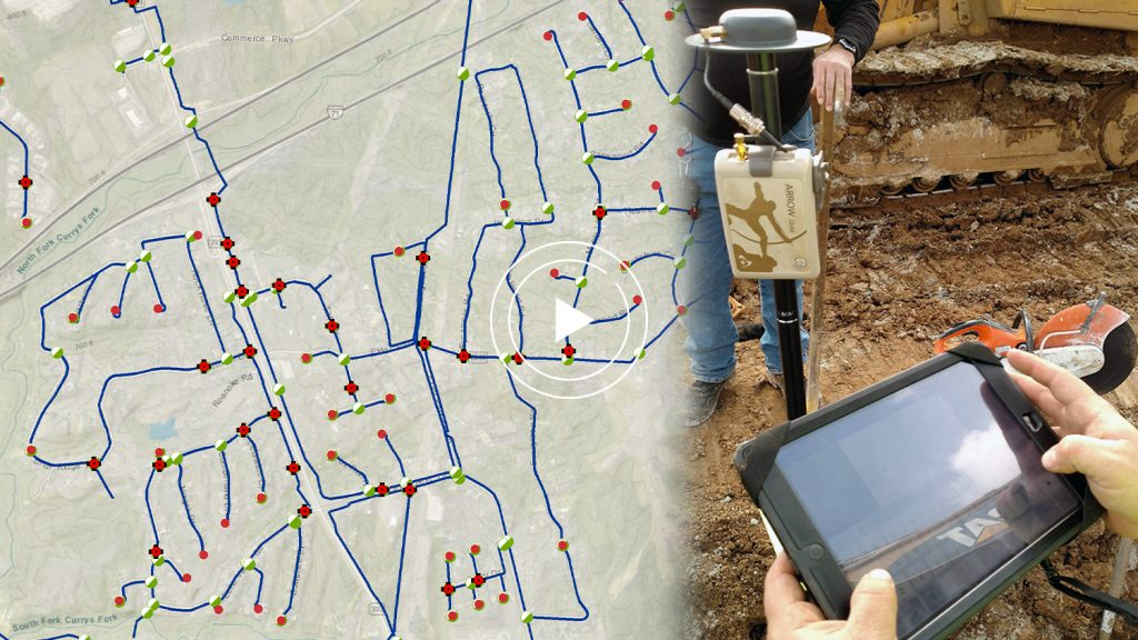 Oldham County Water District GPS GIS Webinar Arrow Gold ArcGIS Map video case study rugged mobile handheld mapping