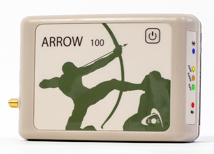 Arrow 100 GNSS Receiver product image for GNSS receiver with GPS GLONASS Galileo BeiDou