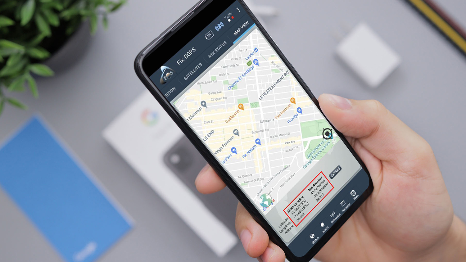 Configuring Mock Location on Android Eos Tools Pro