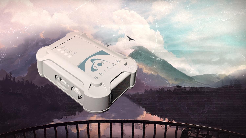 Eos Bridge Bluetooth connector for iOS 1500x844, laser rangefinders, GNSS GPS hardware, underground utility mapping