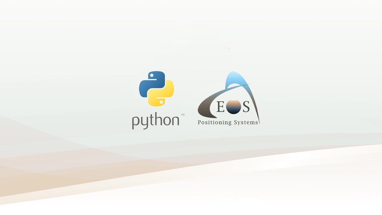 Eos Python Script- Download GNSS Metadata Fields GPS GIS