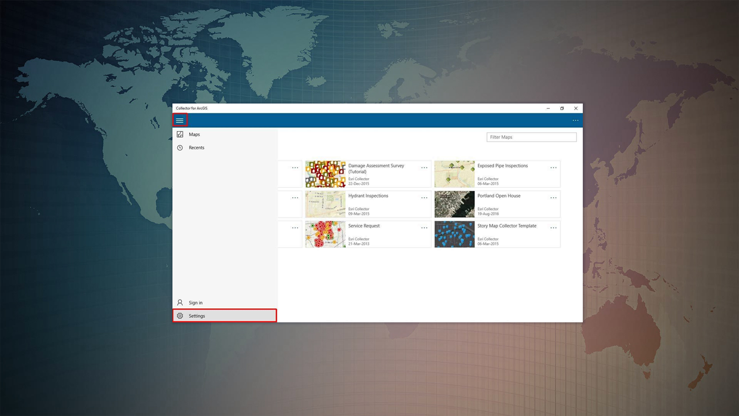How to Configure Collector for ArcGIS with Arrow on Windows10 GPS GIS GNSS Esri