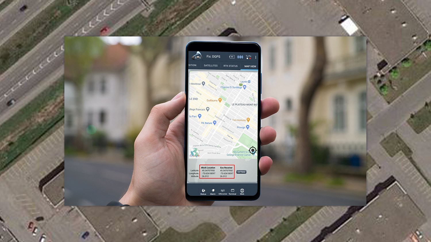 How to Enable Mock Location on Android for the Eos Tool Pro app mobile mapping external GNSS GPS receiver