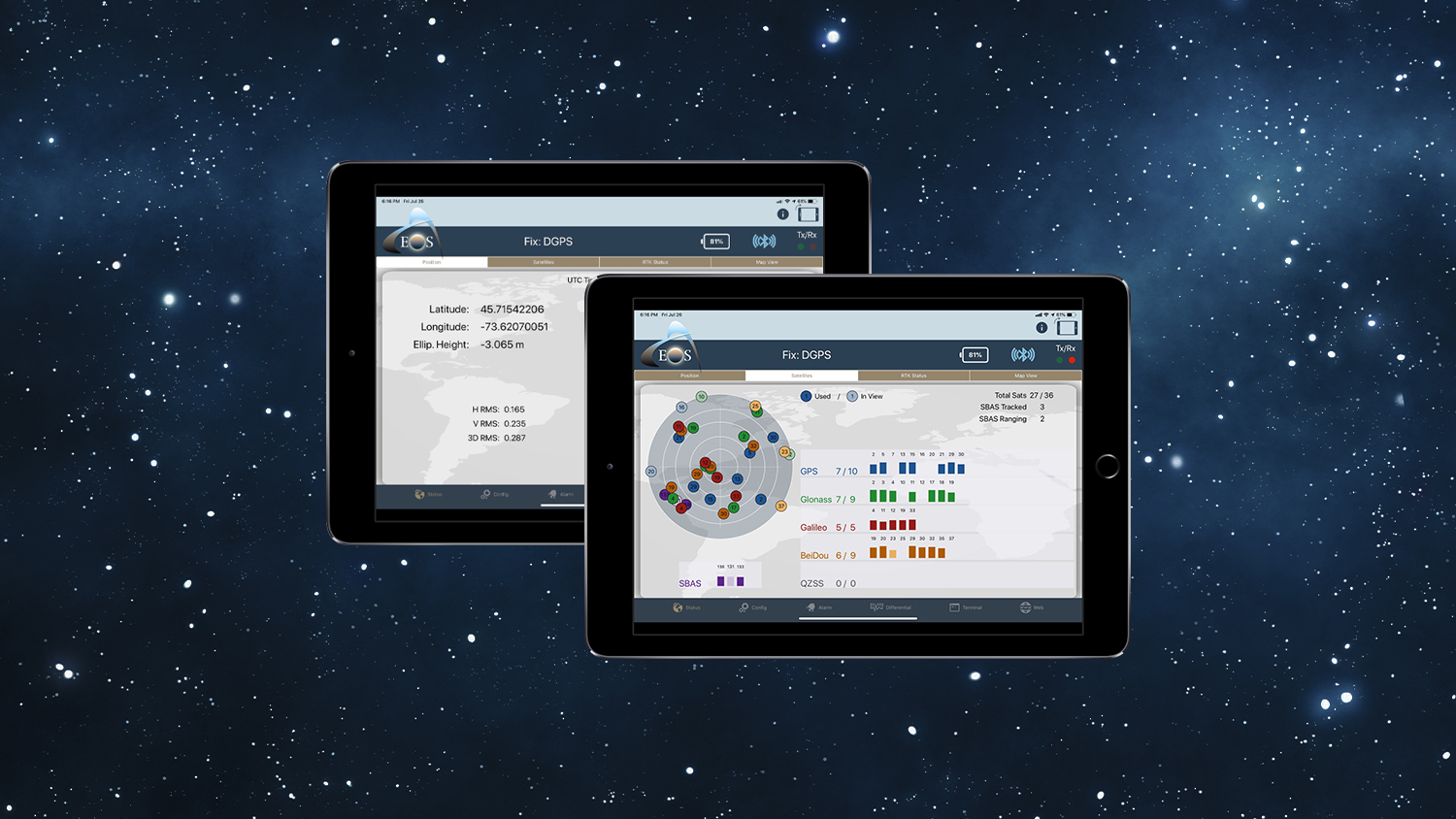 How to Use the Four Constellations for Sub-Meter GNSS Mapping- GPS, Glonass, Galileo, BeiDou GIS