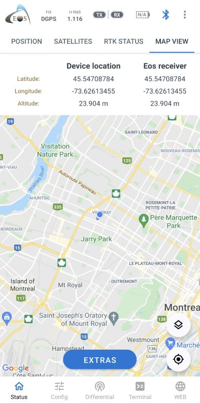 Mock Location Android Eos Tools Pro - MapView screenshot