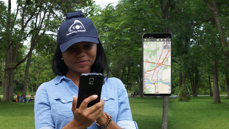 Eos Arrow Partner tMap GNSS GIS GPS mobile data collection