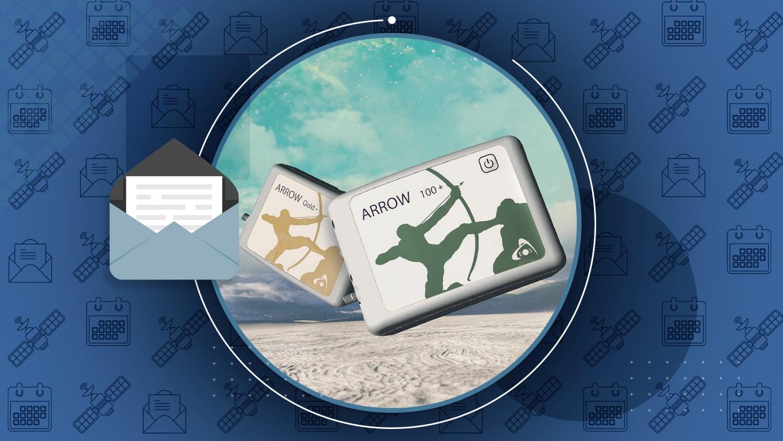 Eos July Newsletter Arrow 100+ Arrow Gold+ Plus Models GPS GIS GNSS handheld receivers