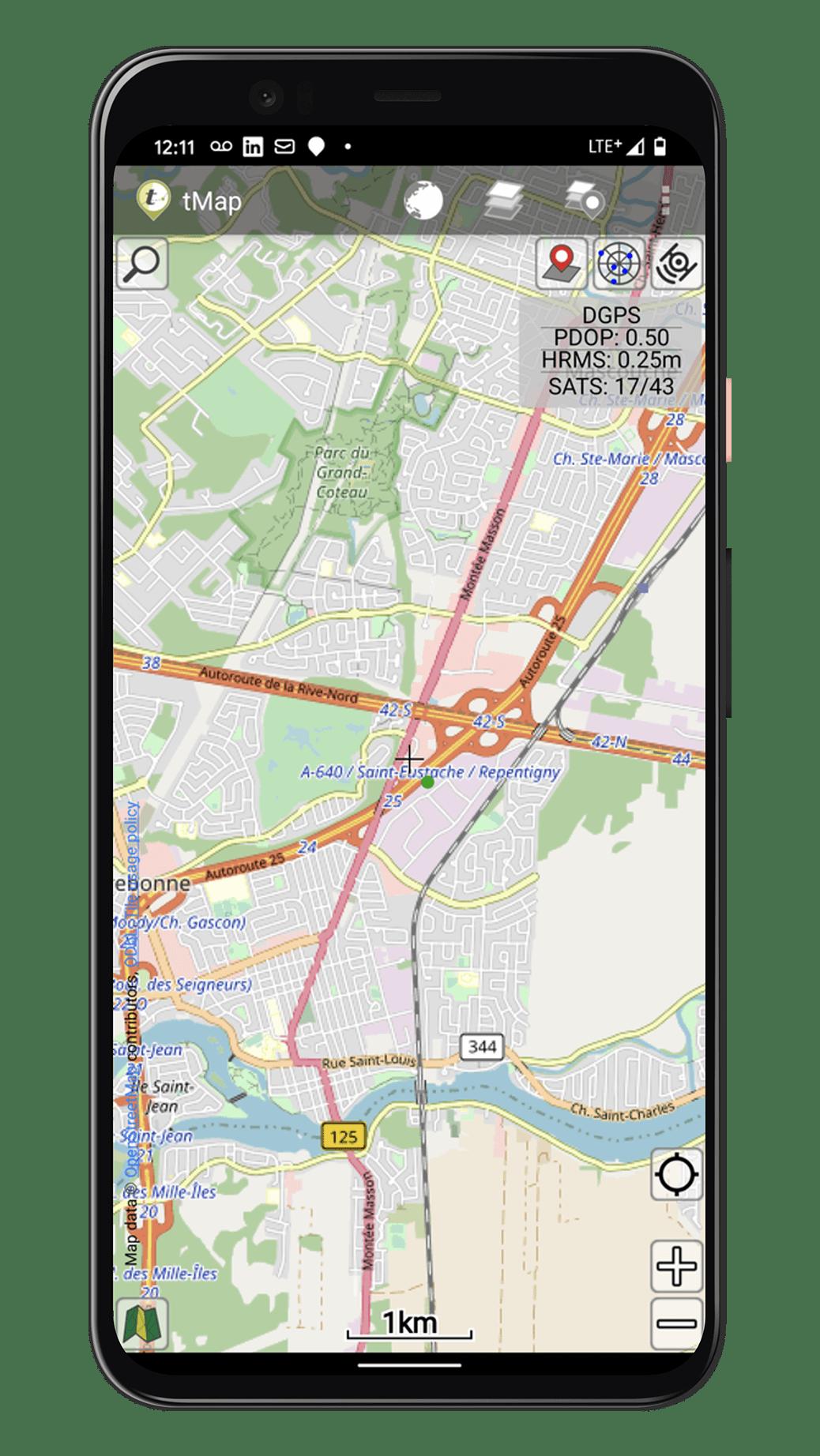 Eos Arrow Partner tMap GNSS GIS GPS data collection