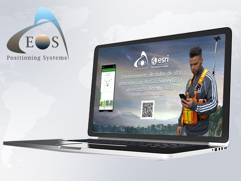S123 Workshop Website Feature ArcGIS Survey123 Spanish language workshop Esri Eos GPS GNSS SIG GIS