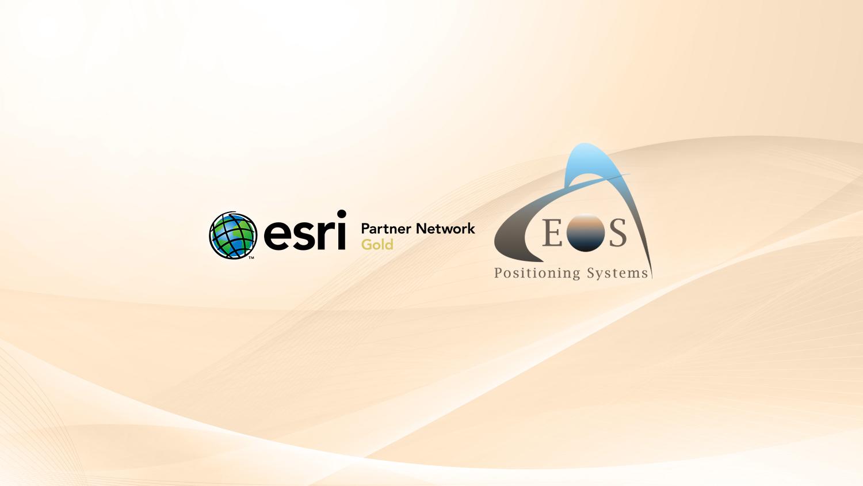 Esri Partner Network Gold Tier - Eos Positioning Systems 2021