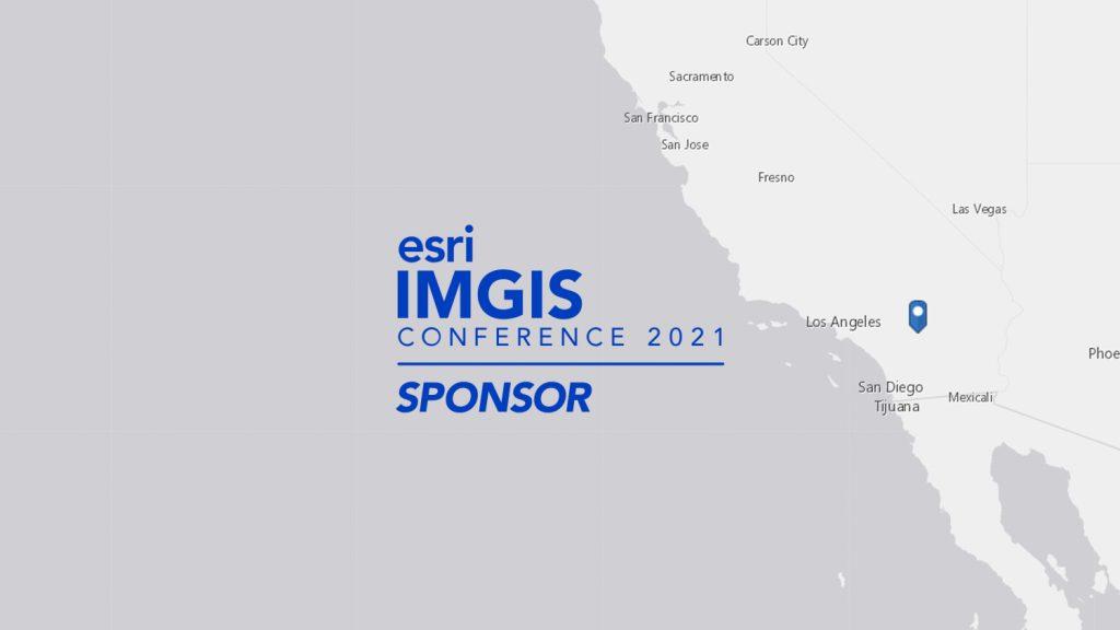 2021 Esri IMGIS is being held in Palm Springs, California (map)