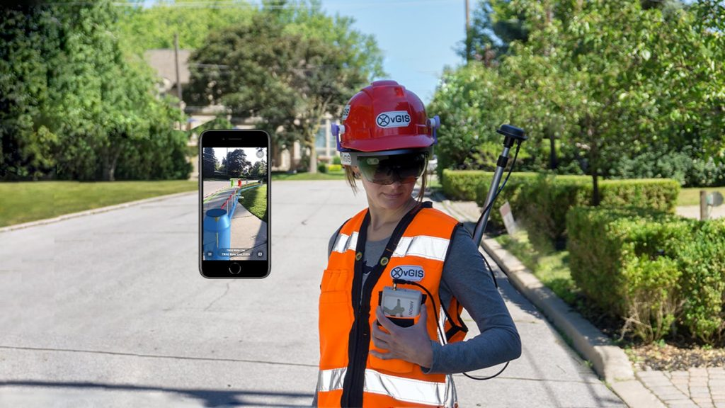 Eos Partner vGIS Augmented Reality mapping visualization 3D data in AR and XR